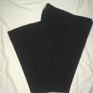 Pin strip pants